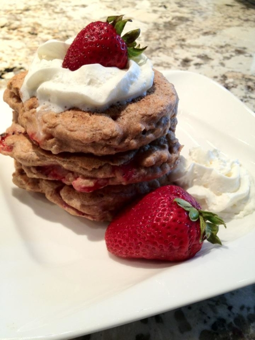 PureSense Health - Strawberry Pancakes