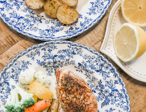 Greek Style Lemon Chicken & Potatoes